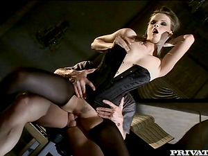 Tarra Milky blows and gets her taut bootie fucked like never before